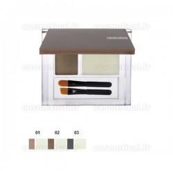Eyebrow set (poudre colorée + cire fixante) 502 Pupa