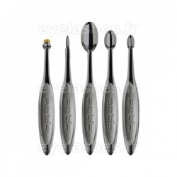 Set de cinq pinceaux Elite Smoke by ARTIS BRUSH - 5 pinceaux